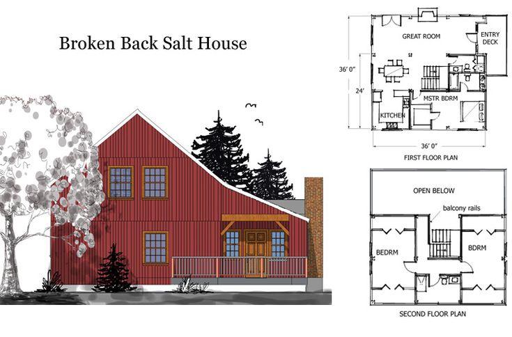 Timber frame post beam kit homes kit houses self for Horse barn house combo plans