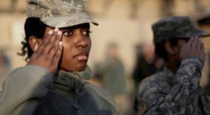 """Army's New Hair Regulations Spark Outrage! Want to go natural? Then don't plan on joining the U.S. Army. Outrage has followed a new Army mandate that prohibits hairstyles commonly identified with African-American hairstyles, including Afros, locs and twists.Identified as """"Army Regulation 670-1,"""" the rule calls for a ban of hairstyles done in """"twists, dreadlocks, afros and braids more than a quarter-inch thick,"""" according to the news site Al-Jazeera America.Click to read more"""