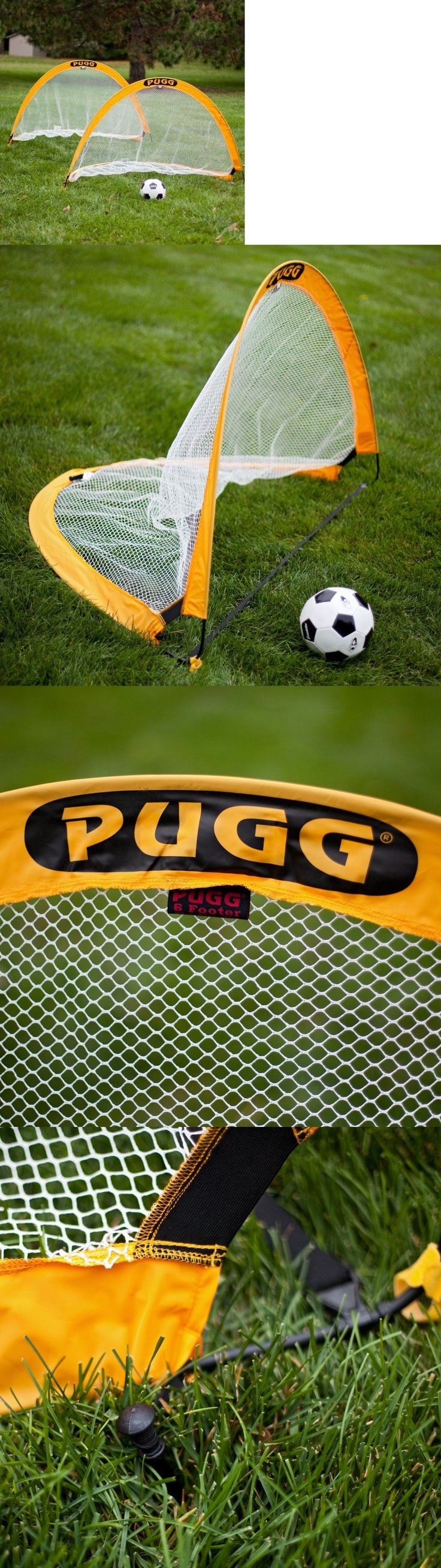 Goals and Nets 159180: 6 Ft. Pugg Soccer Goals - Single Goal -> BUY IT NOW ONLY: $56.25 on eBay!