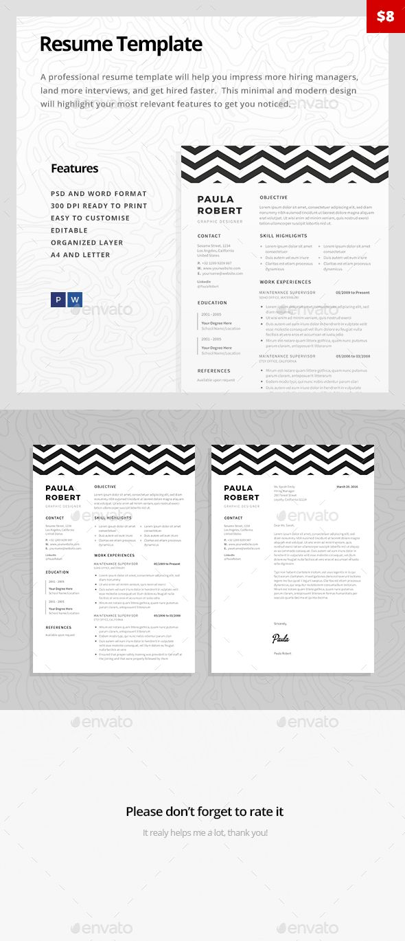 Resume Template  — PSD Template #swiss resume #job • Download ➝ https://graphicriver.net/item/resume-template/18525696?ref=pxcr