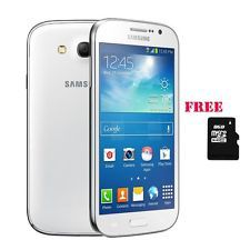 New Unlocked Samsung Galaxy Grand Neo White Dual Sim GT-I9060 Plus 8GB SD Card