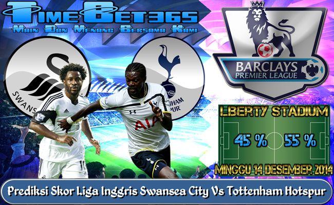 Prediksi-Skor-Liga-Premier-Inggris-Swansea-City-Vs-Tottenham-Hotspur
