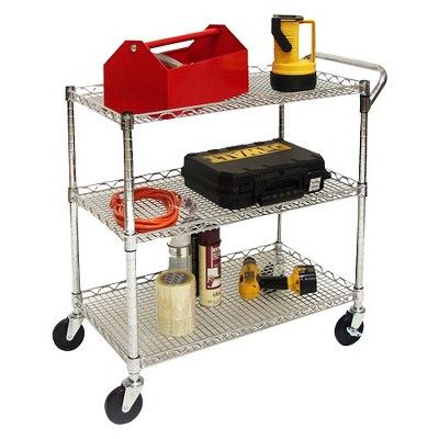 All Purpose Utility Cart, Grey