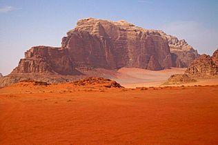 Wadi Rum - Wikipedia, the free encyclopedia