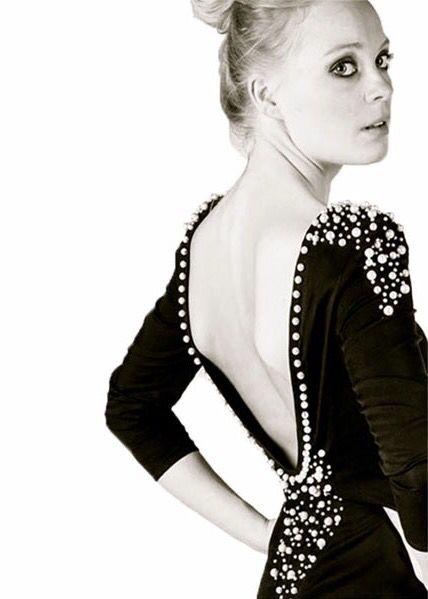 pearl dress // design by nicoline pigsborg // denmark