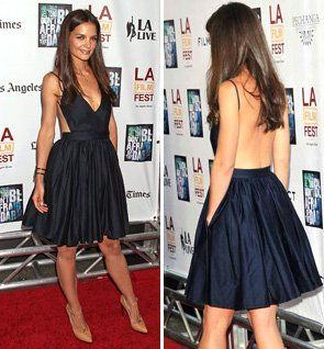 """This dress just rocks... Katie Holmes (5'9"""".. ignore that)  in Contrarian New York"""