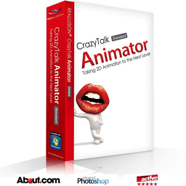 CrazyTalk Animator 1.2 Standard - Easy-To-Use 2D Animation Tool by Reallusion Inc. FREE Today!