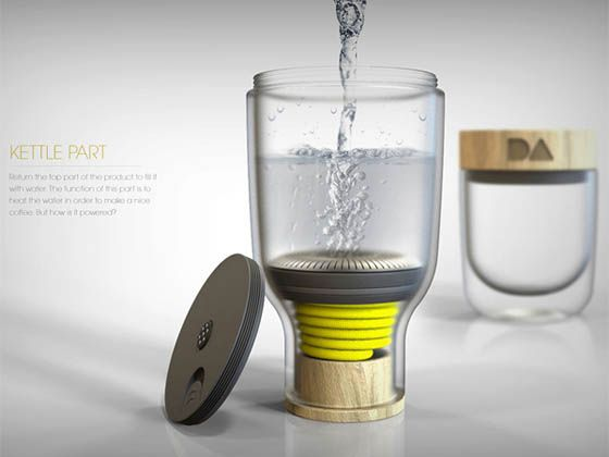 Daily Addiction: a Portable Coffee Maker                                                                                                                                                                                 More
