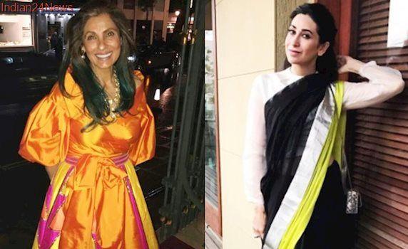 Dimple Kapadia in lehenga, Karisma Kapoor in sari: Who carried Indian wear better?