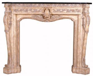 Ambella Home Floral Fireplace Surround