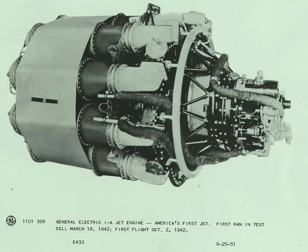 #GE-1A jet engine- America's first #jet engine. First flight was on October 2, 1942: Jets Engine, Ge 1A Jets, America, Aircraft Engines, Jets Planes, Air Machine, Aerospace Engine, Engine Builder, Turbine Engine