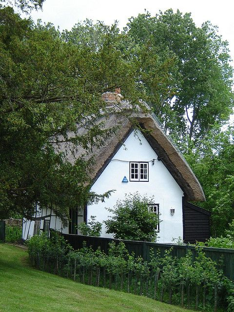 Cottage by the Abbey by isisjem22, via Flickr