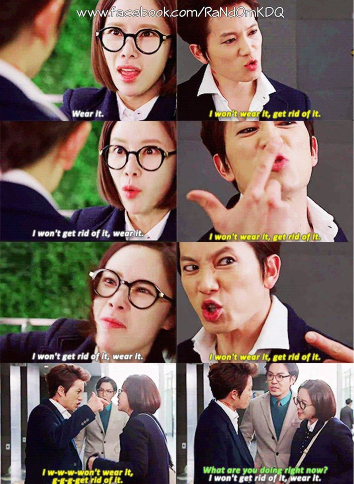 killmehealme Best  Scene  Ever! His secretary was so irritated lol