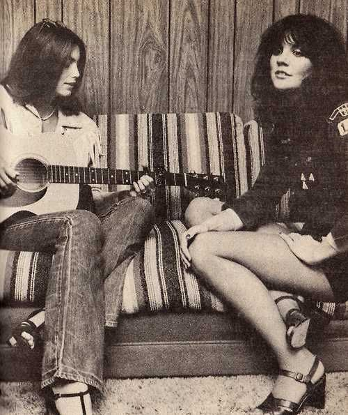 Awesome. I don't trust women who don't know how to be friends with other women. I love men and have many best friends who are guys, but it takes something special to have a soul sister: Emmylou Harris and Linda Rondstadt, 1977--COOL FRIENDS