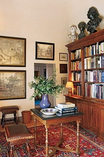 Rustic Library Den: 200 Best Antique Home Office Furniture / Library Images On