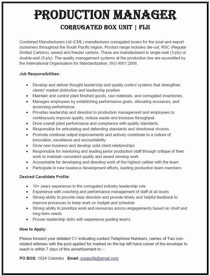 Production assistant Job Description Resume Elegant 12 13