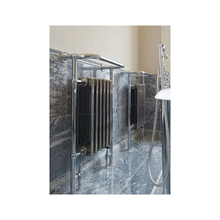... Way To Heat A Bathroom Or Shower Room, Useful For Drying And Keeping  Warm Your Towels As Well As Heating Your Room. The Inside Cast Iron Radiator  Can ...