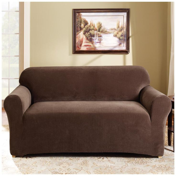 Statuette of Love Seat Slip Covers for Stunning Outlook in the