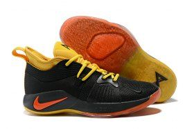 0f2c5f85d24 Elegant Shape Nike PG 2 EP Yellow Black Red Men s Basketball Shoes Boys  Sneakers