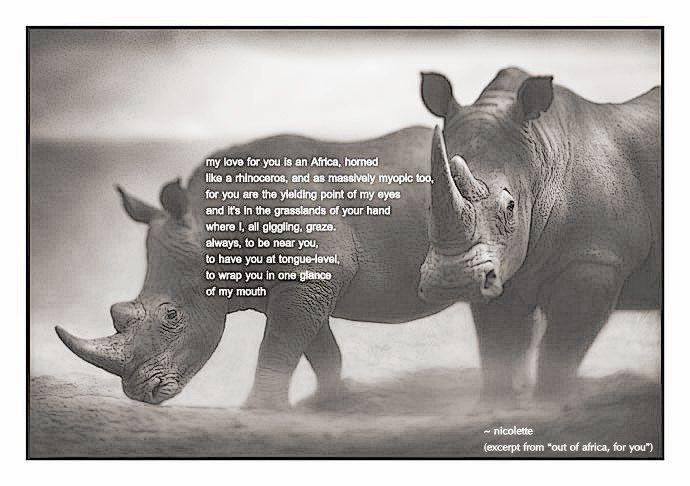 Out of Africa, with love © Nicolette van der Walt