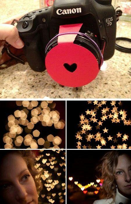 Heart shaped pics .. DIY