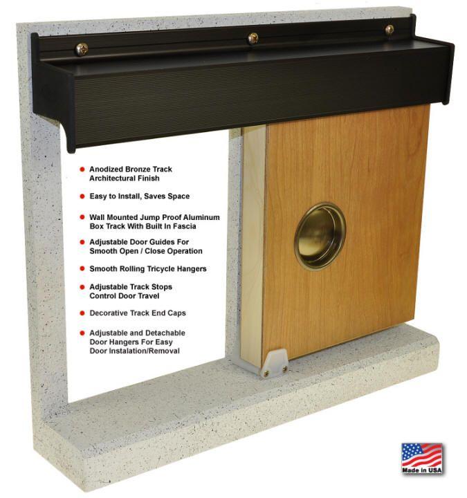 Wall Mounted Sliding Door Hardware 19 best our hardware images on pinterest | home depot, pocket door