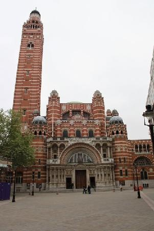 Westminster Cathedral, another must see in London