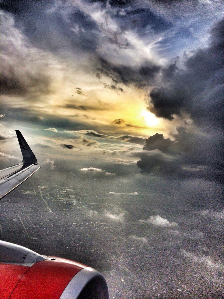 Sobrevolando Bogota