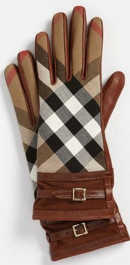 Burberry gloves ♥✤ | Keep the Glamour | BeStayBeautiful