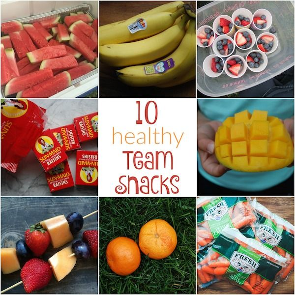 10 Healthy Team Snacks from Holley Grainger Nutrition