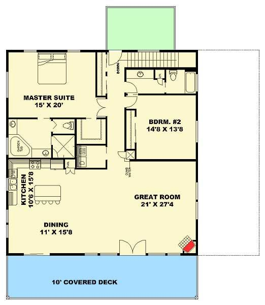 13 best house plans images on pinterest carriage house for Carriage plans