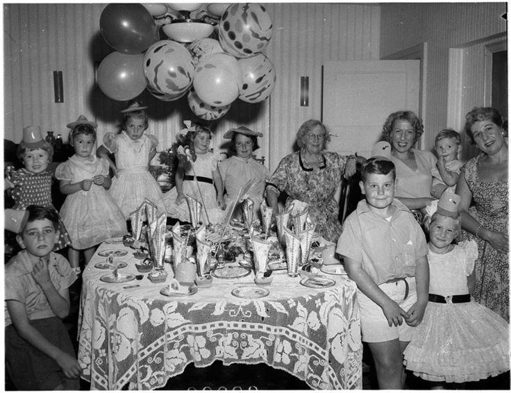 How do you celebrate your birthday? Family celebrations through photographs.