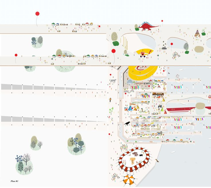 """graphicarchitectureporn: """"Our Dream of Real Life People Alberto Lotti and Luca Naso """""""
