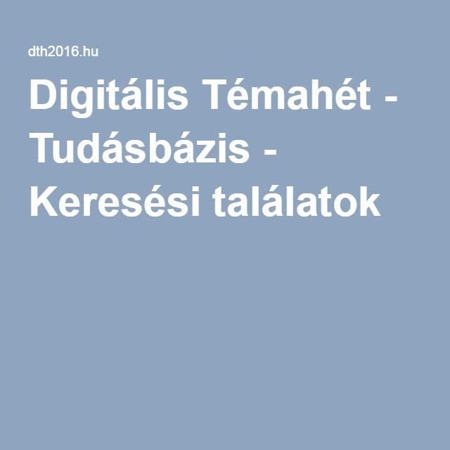 Digitális Témahét - webináriumok