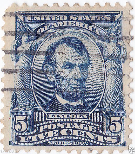 Abraham Lincoln 1902-1903 Michel:US 142A, Scott:US 304, Yt:US 148