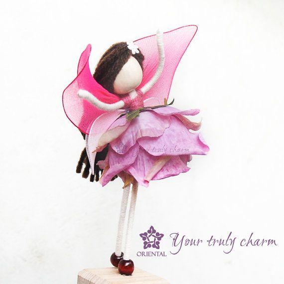 Rose Petal Fairy Doll Rose Princess Doll Rose By