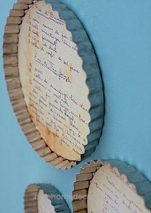 Dekorierte Kuchenform #DiningRoomDecor Dekorieren mit Vintage Kitchen