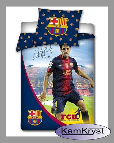 Bedding Fabregas of FC Barcelona | Pościel Fabregas FC Barcelona #fc_barcelona #fabregas_bedding #barcelona_bedding