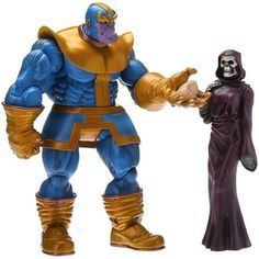 """And it has come back!!! Thanos and death is ready to pre order it now on our friendly page @bigbadtoystore In spite of it's an oldie I think is a must have it if you want a good size comic Thanos figure also death is a perfect """"accessorie"""" for pics with Deadpool #marvelselect #marvelmexico #marvellegends #marvelousnews #thanos #gauntlet #death #oldy #infinitywar #toylovercrew #toysforlife #news #chimichangas #acba #deadpool #pics #spicy #noticias #marvellegendsmexico #infinitystones #today"""