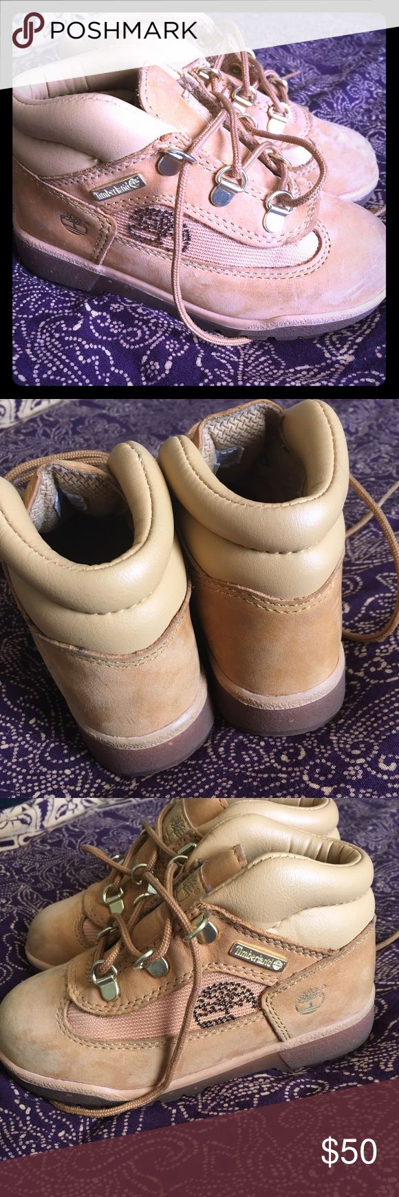 Timberland toddler girl boots Great condition with glitter soles and leather upper timberland toddler 11.5 boots shows a little wear at the front nothing mayor super cute for hiking. Timberland Shoes Boots