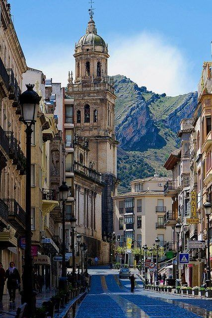 Ja茅n City in Andalucia, Spain