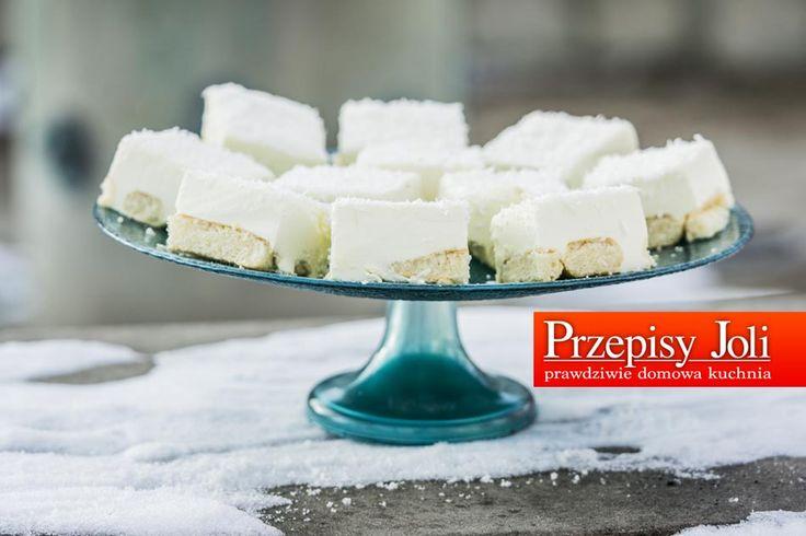 ŚNIEŻNY PUCH - NAJLEPSZY PRZEPIS - bardzo łatwy, równie szybki, lekki i pyszny sernik na zimno tylko z 5 składników :) Zakochacie sięw tym cieście :)