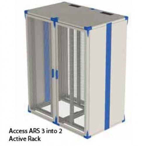 ARS 3 into 2 Active Rack 42U x 1600W x 1000D Black £1,576.06