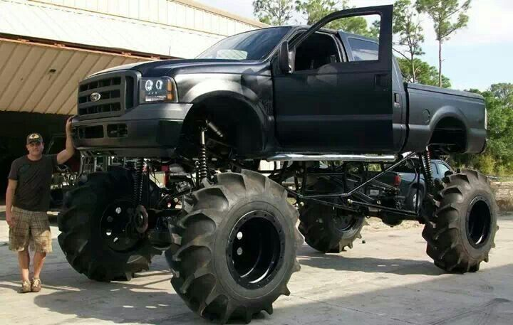blacked out superduty mud truck lifted trucks pinterest lifted ford ford pickup trucks and pickup trucks
