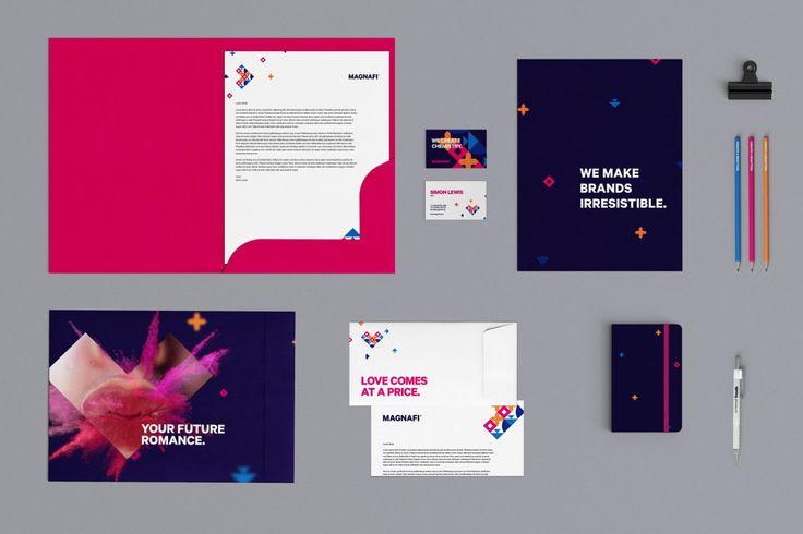 Ahoy's design work for digital agency Magnafi.
