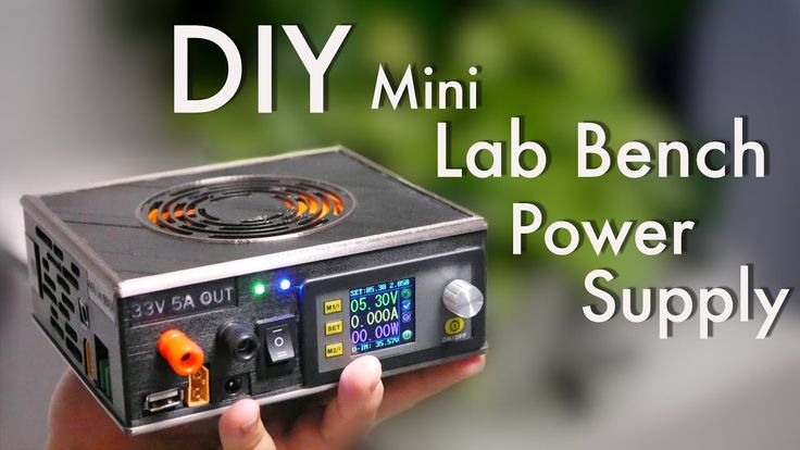 Diy Mini Lab Bench Power Supply With Switchable Dc And Ac Input Electronics Projects Diy Diy Electronics Electronics Projects