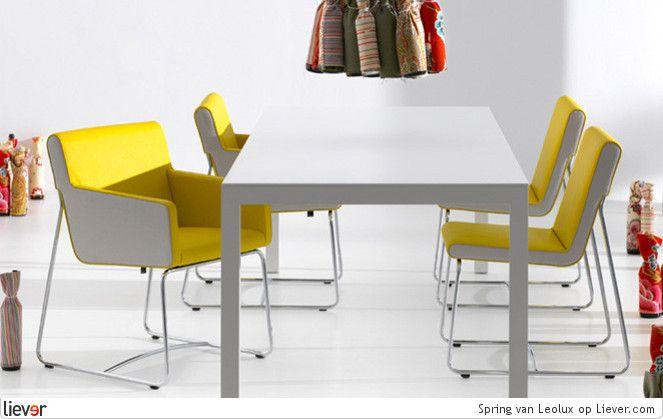 Leolux Spring - Leolux eetkamerstoelen & eettafels - foto's & verkoopadressen op Liever interieur