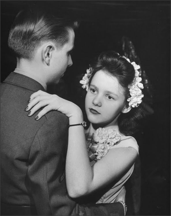 High School Military Ball, 1945 Myron Davis
