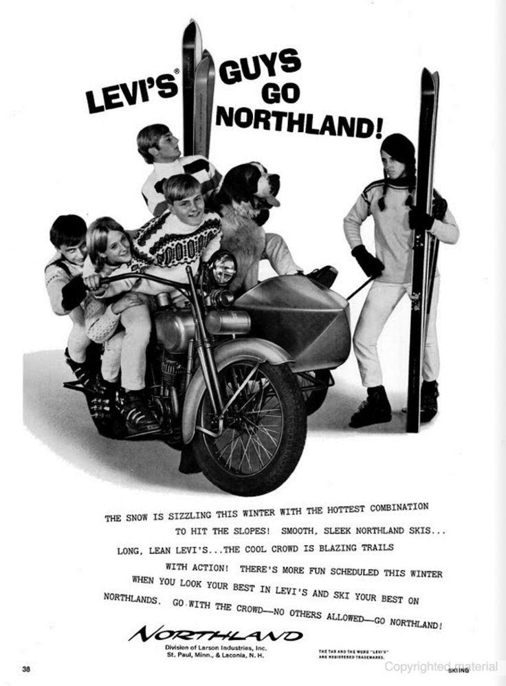 SKIING Dec 1967 Northland pugski VW Advertising