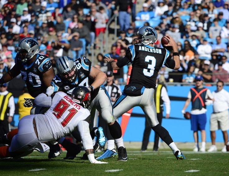 Carolina Panthers QB Derek Anderson | Quarter Back #3